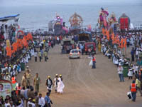 AADM - Crowd Management during the Ganpati Visarjan event