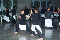 Ahilya Sangha volunteers being trained in the ancient Indian Martial Arts (5)