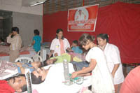 Blood donation camp organized by SAUF and its sister organizations (5)