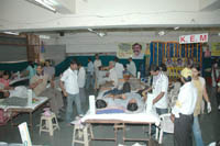Blood donation camp organized by SAUF and its sister organizations