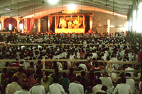 Huge-set-up-of-Jagannath-Puri-during-the-utsav