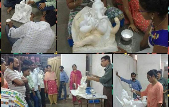 Eco – Friendly Ganesh Workshop held at Bandra