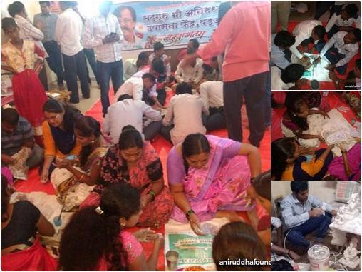 Attachment Details AniruddhaFaoundation-Eco-Friendly-Ganesh-workshop-preparation