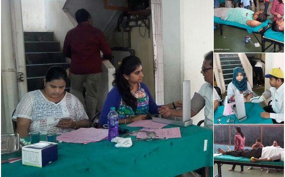 Blood Donation Camp at Vasind, Kasara, Asangaon, Padagha, Shahapur