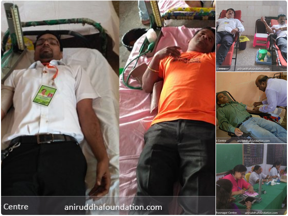 AniruddhaFoundation-Blood Donation Camp Extended Eastern Zones 2017