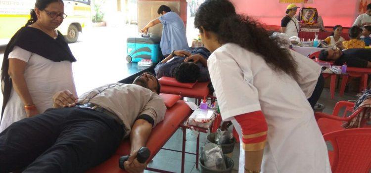 Blood donation camp at Navi Mumbai