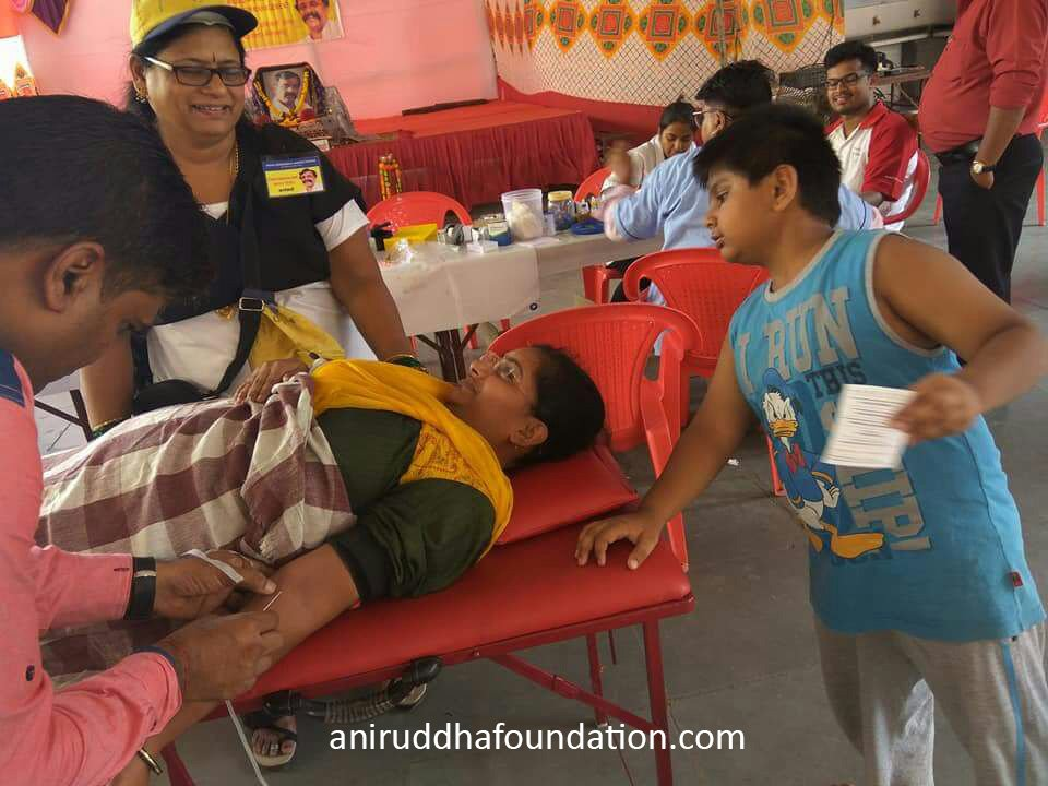 AniruddhaFoundation-Blood Donation Camp Navi Mumbai by Kamothe