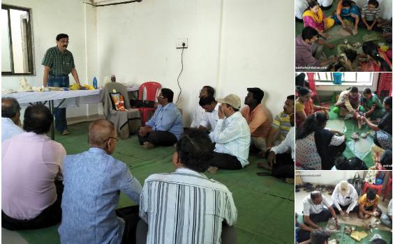 Eco-friendly Ganesh idol workshop