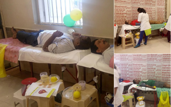 Blood Donation Camp in South Mumbai