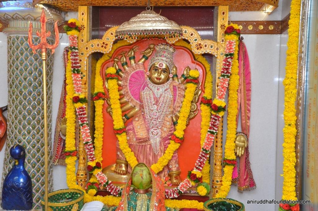 Mothi Aai Mahishasurmardini at Gurukshetram