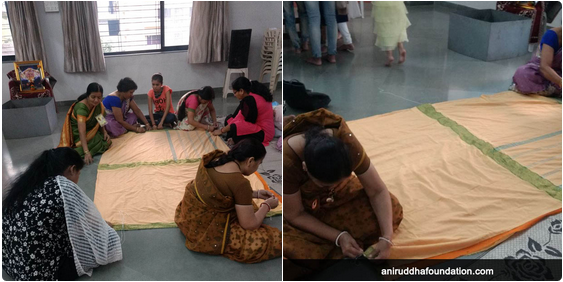 AniruddhaFoundation-Mayechi Ub-Quilt-making Nashik Centre-Featured image