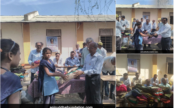 Old is Gold: Distribution of clothes in rural areas