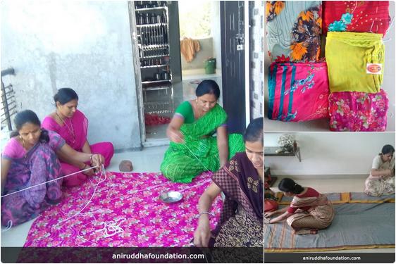 AniruddhaFoundation-Quilt workshop bhandup