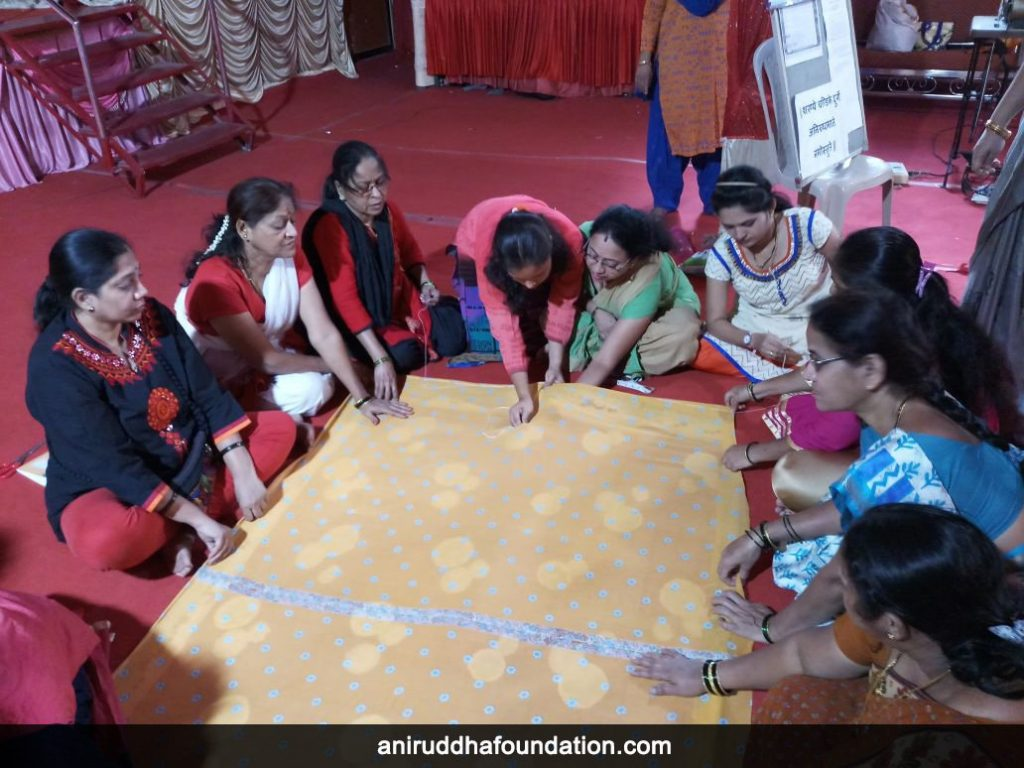 AniruddhaFoundation-Quilt workshop bhandup (2)