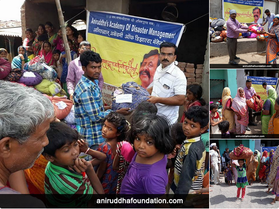 AniruddhaFoundation-07June2018-Distribution of clothes at Nandurbar, Maharashtra-OldIsGold-FeaturedImage