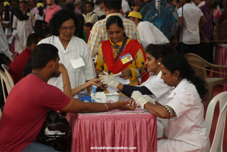 The Mega Blood Donation Camp